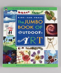 The Jumbo Book of Outdoor Art Paperback | Daily deals for moms, babies and kids