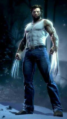 Luke-Wolverine........