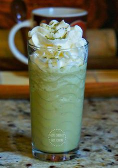 Green tea Frappuccino #matcha New recipe on old post