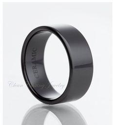 Ceramic Ring,Black Ceramic Ring
