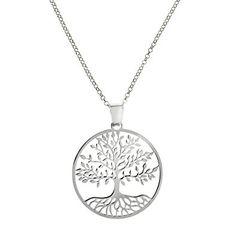 Gargantilla en plata de Ley 925 Diseño Gran Árbol de la Vida