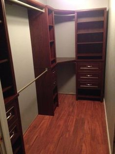 Curved Closet Rod Captivating Corner Closet Diy  Pinterest  Corner Closet Storage Ideas And Design Ideas