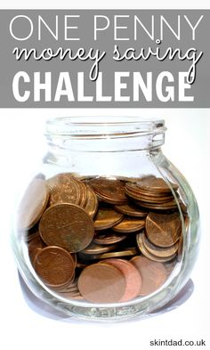 If you're desperate to start saving some money – for any occasion – but your budget can't stretch to £1 a week in the 52 week saving challenge, how about trying the one penny money saving challenge instead?