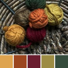 Color Scheme: Fall Leaves - Home Decor Color schemes - Bedroom Fall Color Schemes, Fall Color Palette, Room Color Schemes, Colour Pallette, Color Palate, Room Colors, Copper Colour Scheme, Neutral Palette, Color Combinations
