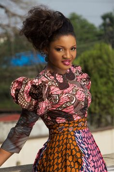 simiallsmiles:  iamforevernigerian:  Omotola  Shes so gorgeous !!!!