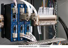 Programmable logic controller - stock photo