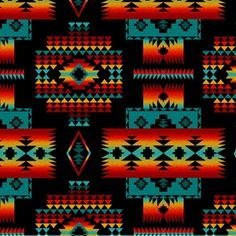 Search for native, Fabric Collections Native American Blanket, Native American Decor, Native American Print, Native American Patterns, American Art, Southwest Quilts, Southwest Style, Indian Blankets, Native Design