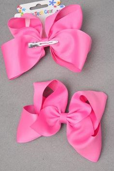 """Orange 4.5/"""" JUMBO shabby bow DIY baby headbands /& hair bows"""