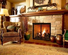 CobbleStonembers Masonary and Fireplace Design Specialists. Design a new fireplace at your home and give a new look to your home. We have years of experience. Fireplace Hearth Decor, Corner Fireplace Mantels, Stone Fireplace Designs, Fireplace Pictures, Vintage Fireplace, Old Fireplace, Rustic Fireplaces, Modern Fireplace, Living Room With Fireplace