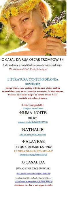 Lançamento e-Book Kindle para Você:                                                             http: amazon.com/dp/B00NJAKOA4  O CASAL DA RUA OSCAR TROMPOWISKI  Welington A Pinto. História em que a delicadeza e a brutalidade se transformam em desejos desenfreados.