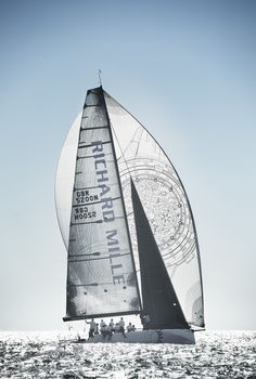 Photo © Luc Manago #LesVoilesdeStBarth #Sailing #Race #SailingCompetition #Sea #RichardMille