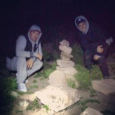 """""""Me and my dad hiking"""" #FamilyTime"""