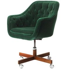 Desk Chair By Ward Bennett | From a unique collection of antique and modern office chairs and desk chairs at http://www.1stdibs.com/furniture/seating/office-chairs-desk-chairs/