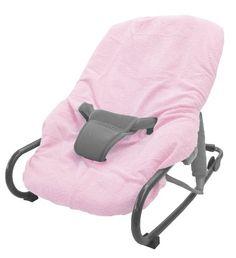Looping – Funda de rizo para silla mecedora, color rosa