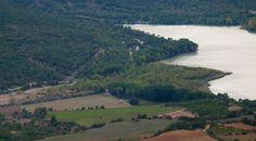 SEdiments Delta del barranc de Barcedana des del Mirador de Llimiana #hidrogeologia #pallarsjussa