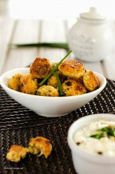 Onion Quinoa Bites - Interesting and healthy appetizer option!