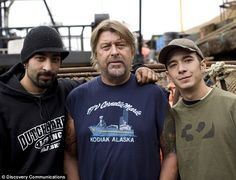 Phil Harris Fisherman | different breed: Captain Phil Harris, centre, and sons Jake, left ...