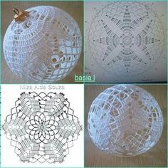 Candlelight and Lace Thread Crochet ePattern Crochet Christmas Decorations, Crochet Decoration, Crochet Christmas Ornaments, Christmas Crochet Patterns, Holiday Crochet, Crochet Snowflakes, Christmas Cross, Christmas Baubles, Handmade Christmas