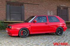 Der rote Rallye Golf 16V Turbo Rentierschlitten: Expresslieferung zu Weihnachten - Fotostrecke - VAU-MAX - Das kostenlose Performance-Magazin
