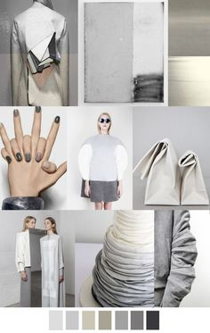 F/W 2017 Women's Colors Trend: GREYED OUT