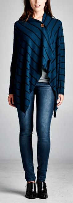 great fall sweater. I have something similar and I love to wear it.