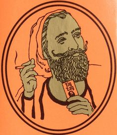 orange joints Rolling Papers zig zags zig zag guy