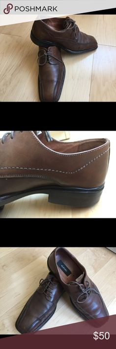 ALFANI Man's Shoes Size 38 Used but perfect condition Leather shoes , brown color, Alfani Shoes