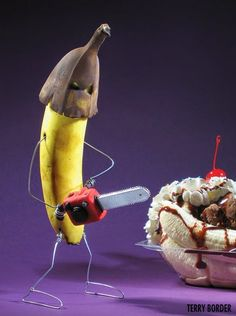 Terry Border Makes Inanimate Objects Come Alive -  #art #lol #puns