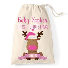 Personalised Baby Girl First Christmas  e13d0b3c7