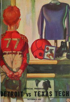 1937 University of Detroit vs. Texas Tech Football program