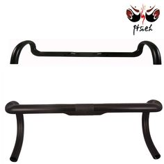 Simple carbon fiber bicycle parts/ bike bend handlebar, in stock and fast delivery #bicycles, #parts
