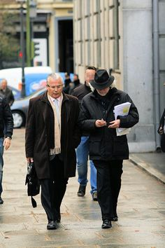7 de febrero de 2012: Llega el juez Baltasar Garzón...