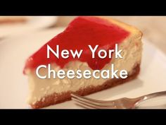 Tarta de Queso al Horno - New York Cheesecake - Receta resumida