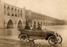 1937 One of the first cars in Tehran Iran