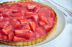 Have a summer sweet tooth? Satisfy your craving with this tangy-sweet Double Strawberry Pie.