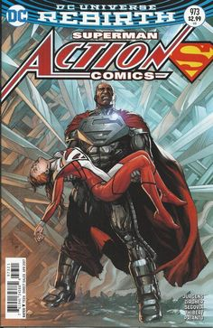 DC Universe Rebirth Superman Action Comics issue 973 Limited variant