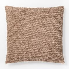 Cozy Boucle Pillow Cover - Camel