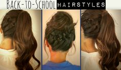 easy updos for kids - Google Search
