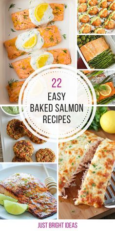 Oh these baked salmon recipes look delicious! Thanks for sharing! (Easy Bake Shrimp)