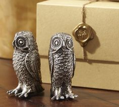 Pottery Barn Owl Salt and Pepper Shakers