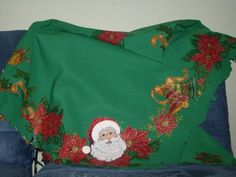 Manteles navideños bordados - Imagui