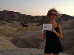 Il mitico Zabriskie Point di Antonioni. Death Valley #California #USA #viaggi #viaggiareinpoltrona #bestravel