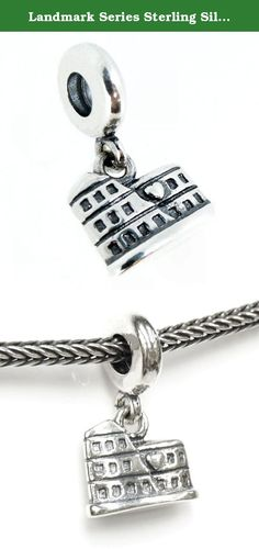 Final Touch Gifts Rutgers University Crystal Logo Charm Fits European Style Large Hole Bead Bracelets