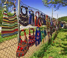 Bilum bags from Papua New Guinea