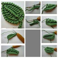 Watch The Video Splendid Crochet a Puff Flower Ideas. Phenomenal Crochet a Puff Flower Ideas. Crochet Puff Flower, Crochet Cactus, Crochet Food, Freeform Crochet, Crochet Motif, Irish Crochet, Crochet Flowers, Crochet Stitches, Crochet Leaf Patterns