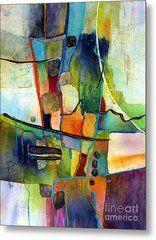 Fluvial Mosaic Metal Print by Hailey E Herrera