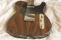 STUNNING Vintage original c. 1986 Fender Rosewood MIJ Japan Telecaster + ohsc NR