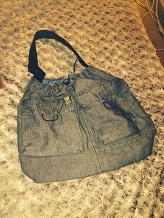 Bolso pantalons reciclats #costuradeprinipiants #treball