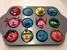 A little pinspiration for a Sesame Street party, baked by one of our interns!