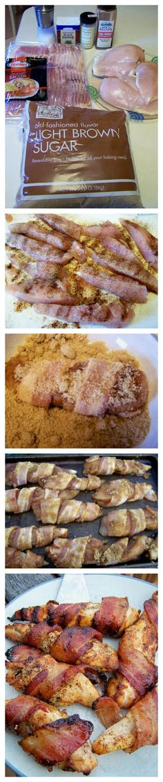 Sweet & Spicy Bacon Chicken  http://diaryofarecipeaddict.blogspot.com/2011/07/sweet-spicy-bacon-chicken.html